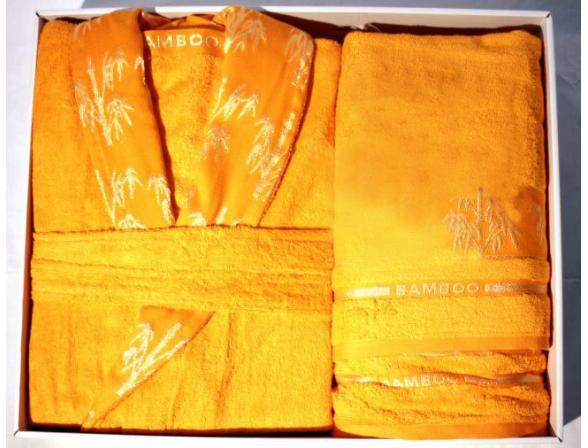 Халат+полотенце ARYA FAKILI бамбук