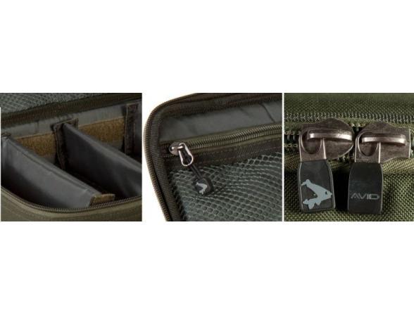 Сумка для грузил AVID CARP Lead Pouch 7сm (H) x 12сm (D) x 25сm (W) AVLUG/03