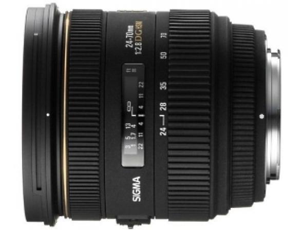 Объектив Sigma AF 24-70mm F2.8 IF EX DG ASPHERICAL HSM Canon EF