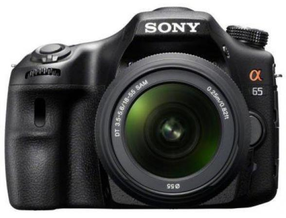 Зеркальный фотоаппарат Sony Alpha SLT-A65 Kit 18-55
