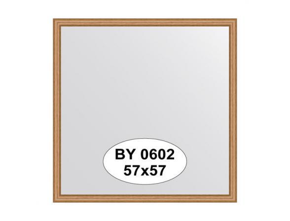 Зеркало в багетной раме EVOFORM вишня (57х57 см) BY 0602