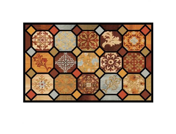 Коврик резиновый Mohawk 46*76 Pompeian Tiles