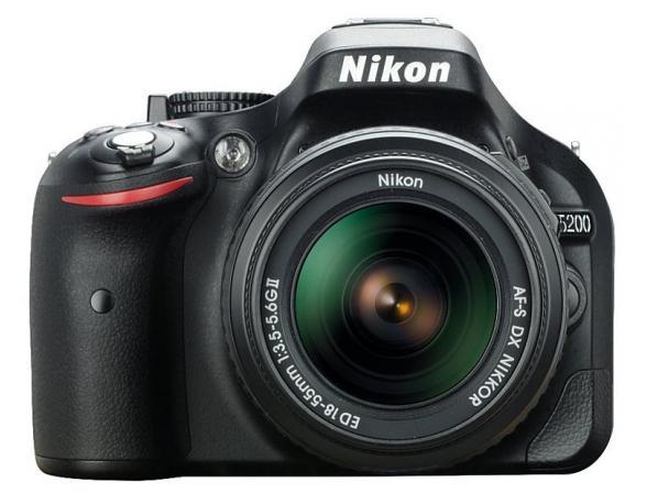 Зеркальный фотоаппарат Nikon D5200 Kit 18-55 II