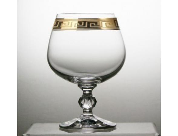 Набор бокалов для коньяка Bohemia Crystall Клаудия/375479К 250 мл