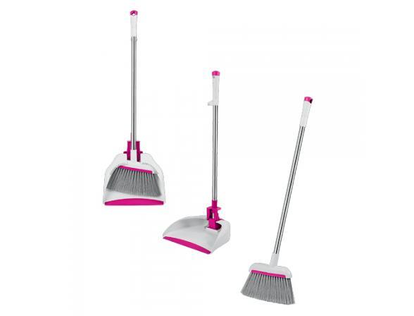 Складной набор для сухой уборки (щетка и совок) LOKS L30-1044-14