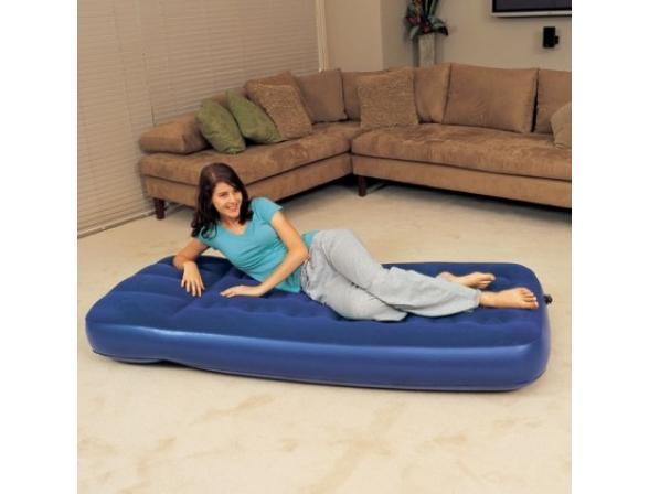 Кровать надувная Bestway Flocked Air Bed Single 67223