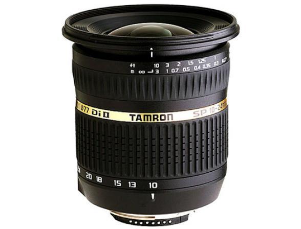 Объектив Tamron SP AF 10-24mm F/3.5-4.5 Di II LD Aspherical (IF) Nikon F