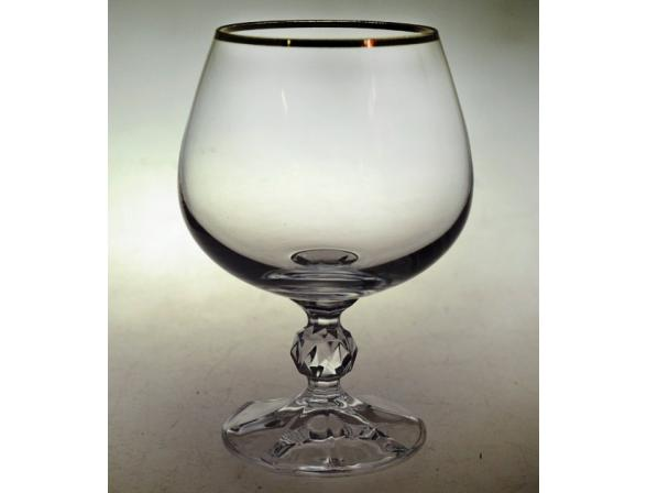 Набор бокалов для коньяка Bohemia Crystall Клаудия/20733S/250