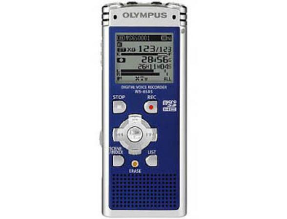 Диктофон Olympus WS-650S Blue [N2287321]
