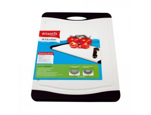 Кухонная доска антибактериальная MICROBAN FLUTTO 37x25см F-M-10