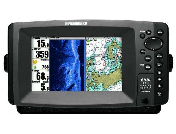 Картплоттер+эхолот Humminbird 898c SI Combo
