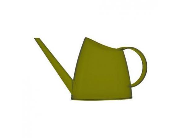 Лейка Emsa FUCHSIA 1.5 л, зеленая-хаки прозрачная