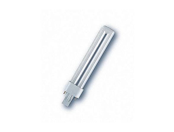 Компактная люминисцентная лампа OSRAM 580773 DULUX S 9W/840 G23 (50)