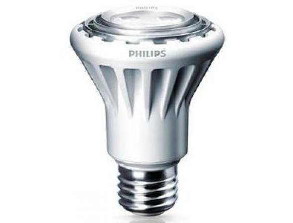 Лампа светодиодная Philips 195665 LED 50W E27 WW 230V PAR20 25D DIM/4