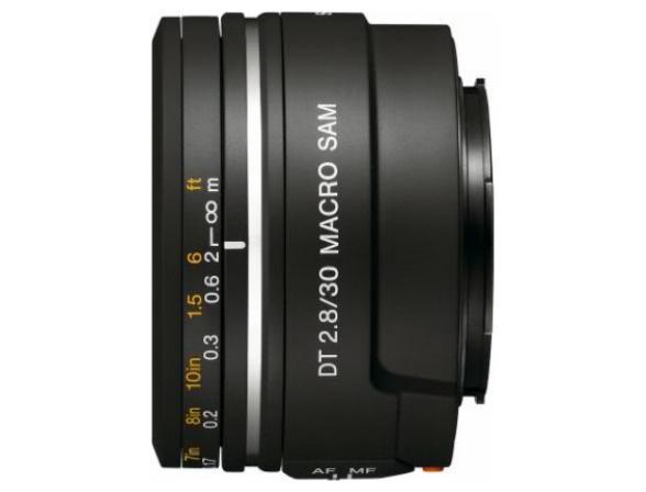 Объектив Sony 30mm 2.8 DT Macro SAM (SAL-30M28)
