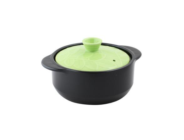 Кастрюля керамическая HANS & GRETCHEN 1,1л (16см) 12NF-G16 BAUM GREEN