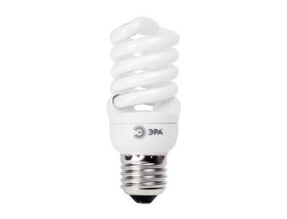 Лампа энергосберегающая ЭРА F-SP-15-827-E27 мягкий свет (12/48/2640)