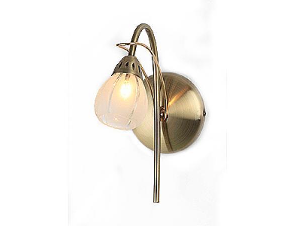 Бра Rivoli Elba Antique brass/Gold