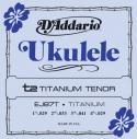 Струны для укулеле тенор D'ADDARIO Titanium EJ87T