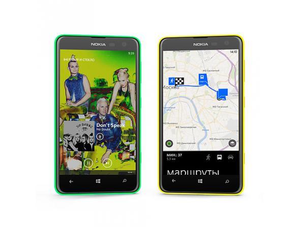 Смартфон Nokia Lumia 625 Green