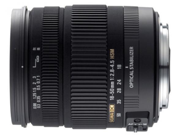 Объектив Sigma AF 18-50mm f/2.8-4.5 DC OS HSM Nikon F*