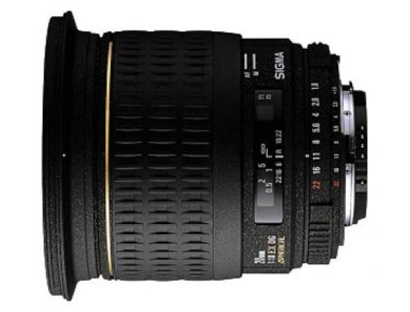 Объектив Sigma AF 20mm f/1.8 EX DG ASPHERICAL RF SONY