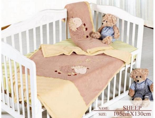 Плед для новорожденных ARYA Sheep