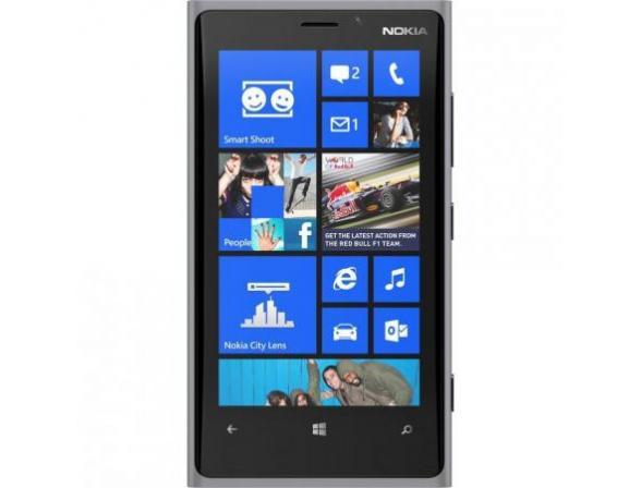 Смартфон Nokia Lumia 920 grey