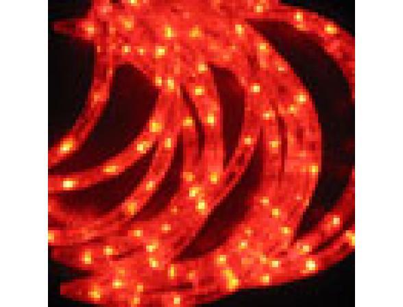 Светодиодные подвески Rich LED Луны 3*0.5 м, цвет: красный. Прозрачный провод.