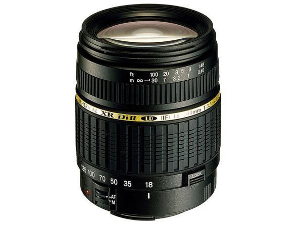 Объектив Tamron AF 18-200mm F/3,5-6,3 XR Di II LD Aspherical (IF) MACRO Canon