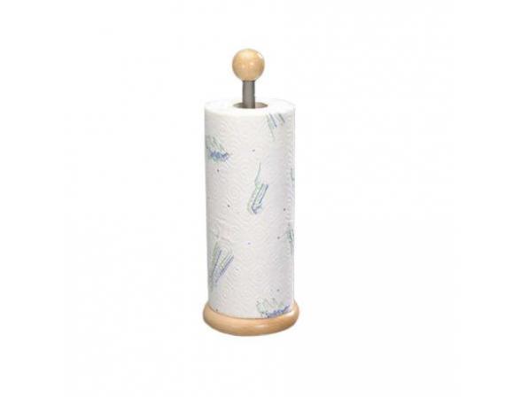 Держатель кухонного полотенца Kesper хром/дерево  9000-9