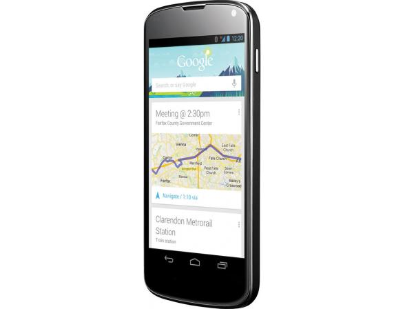 Смартфон LG Nexus 4 8Gb Black