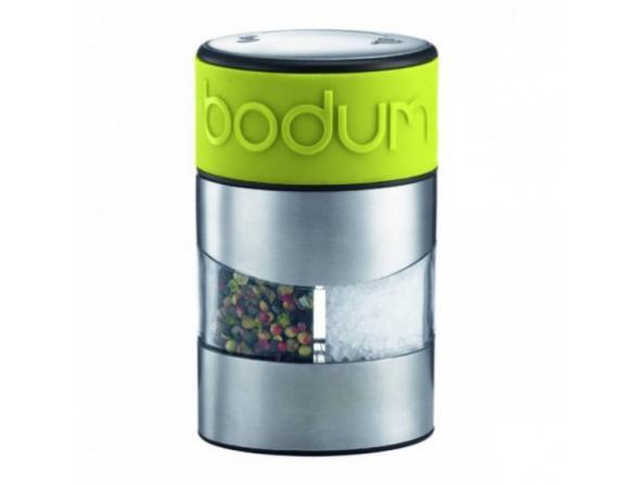 Мельница для соли и перца BODUM Twin зеленая