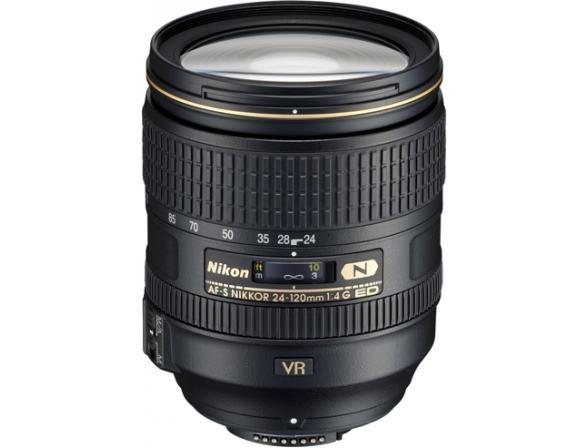 Объектив Nikon 24-120mm f/4G ED AF-S VR Zoom-Nikkor