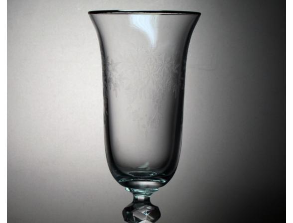 Набор бокалов для шампанского Bohemia Crystall Роза/432227K/150