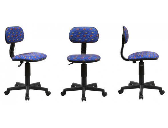 Кресло BURO Ch-201NX/Race-Bl