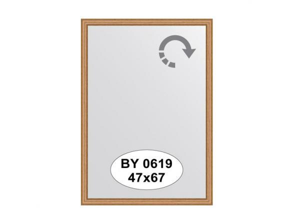 Зеркало в багетной раме EVOFORM вишня (47х67 см) BY 0619