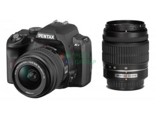 Зеркальный фотоаппарат Pentax K-5 Kit 18-55 + 50-200*