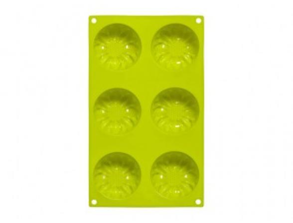 Форма для выпечки PREMIER HOUSEWARES 6 Цветов зеленая