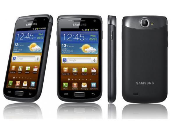 Смартфон Samsung Galaxy W I8150 Black