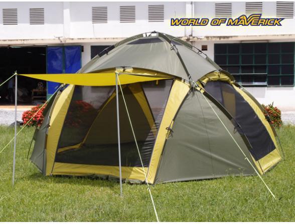 Тент-шатер Maverick Cosmos 400 (шестиместный)