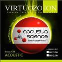 Набор 6 струн для гитары акустик VIRTUOZO 00511.ION BRONZE Акустик