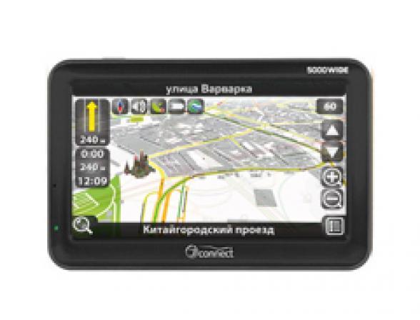 GPS-навигатор JJ-Connect AutoNavigator 5000 Wide Россия (2Gb flash, встроенная)