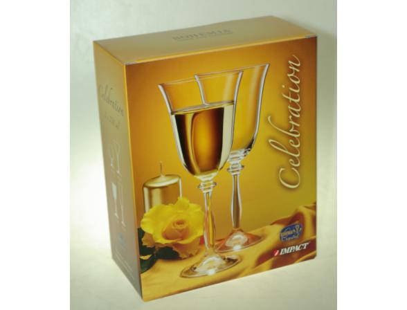 Набор бокалов для вина Bohemia Crystall Celebration*2/250