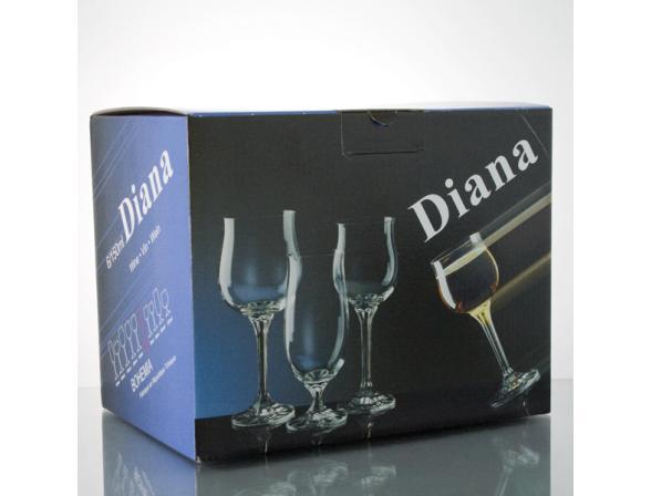 Набор рюмок для водки Bohemia Crystall Диана 60