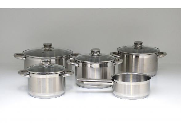 Набор посуды ALZA STAR 5 предметов