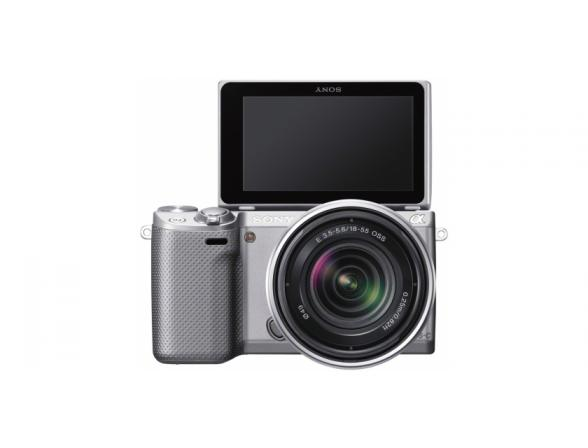 Цифровой фотоаппарат Sony Alpha NEX-5RK Kit 18-55 Silver