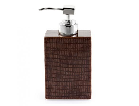 Дозатор для жидкого мыла KASSATEX Delano Chestnut ADL-LD-CHE