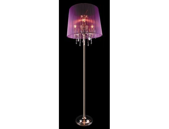Торшер Eurosvet 2045/3 золото/розовый
