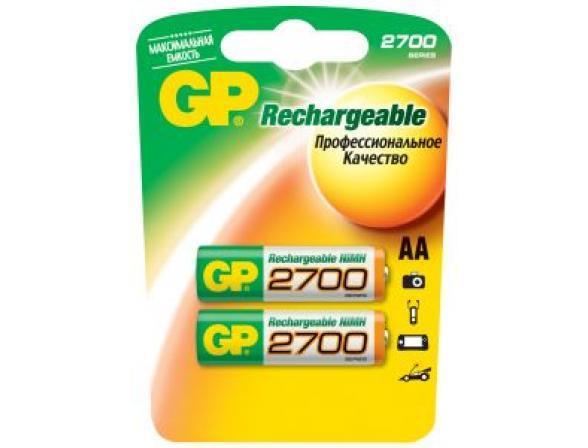 Аккумулятор GP AA 2700 mAh (уп 2 шт)